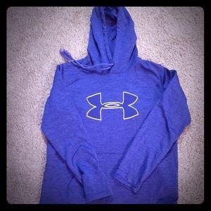5$$ Under Armour Purple hoodie sz S